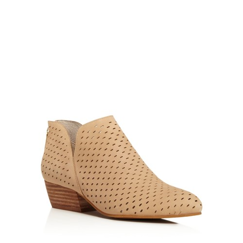 Women's Cooper Perforated Nubuck Leather Booties