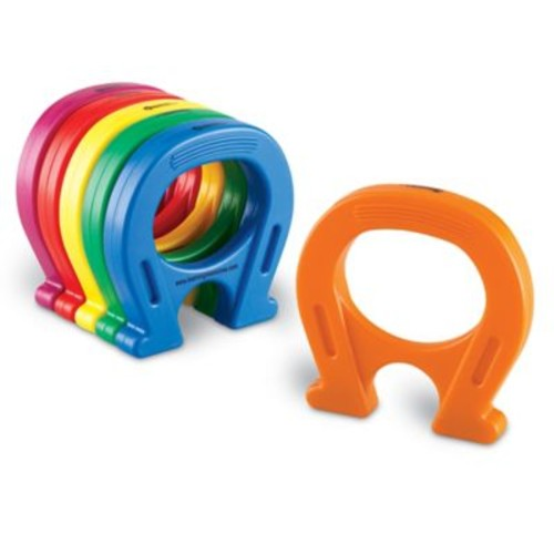 Learning Resources Primary Science 12-Piece Horseshoe-Shaped Magnets