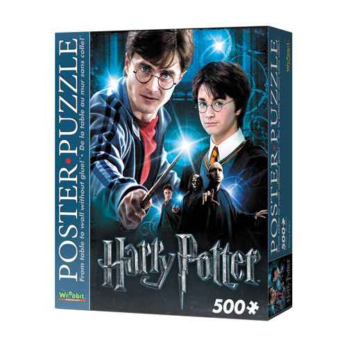 Wrebbit Puzzles Harry Potter 500 Piece Poster Puzzle