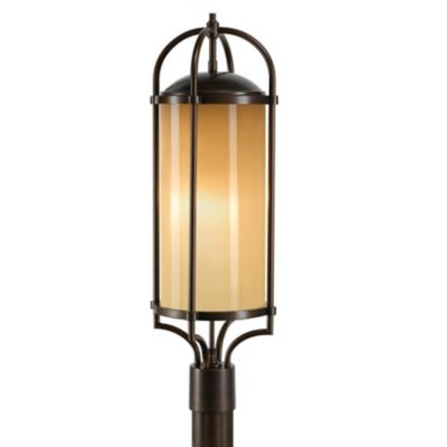 Feiss Dakota Single-Light Outdoor Post Light in Heritage Bronze