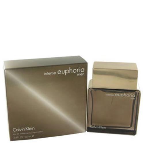 Calvin Klein Eau De Toilette Spray 3.4 Oz Euphoria Intense Cologne By Calvin Klein For Men