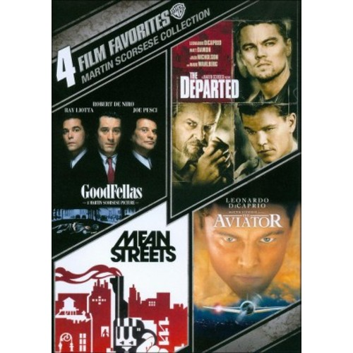 Martin Scorsese Collection: 4 Film Favorites (4 Discs) (dvd_video)