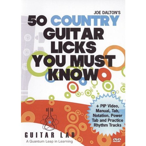 50 Country Guitar Licks You Must Know! [DVD] [2009]