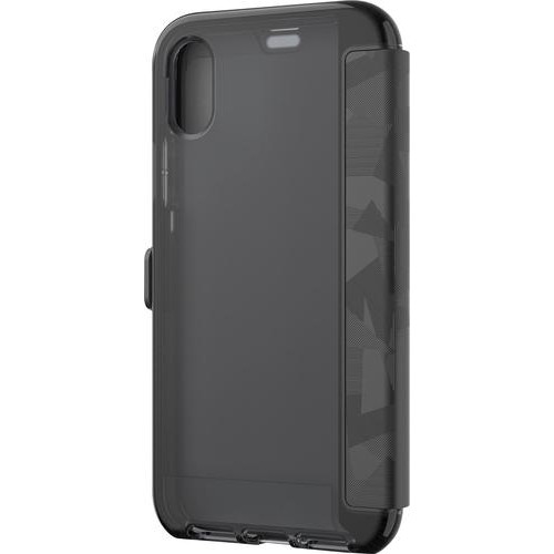 Tech21 - Evo Wallet Case for Apple iPhone X - Black