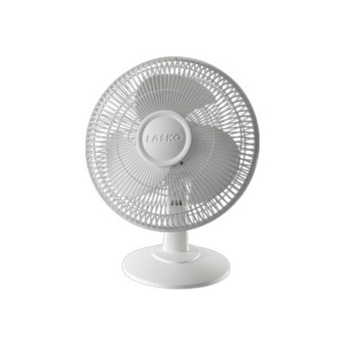 Lasko Products 2012 Oscillating Table Fan with 3 Quiet Speeds, 12