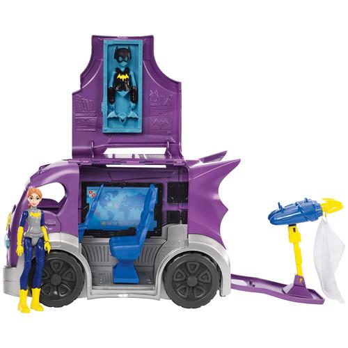 DC Comics Super Hero Girls Batgirl Action Figure & Headquarters Vehicle Set