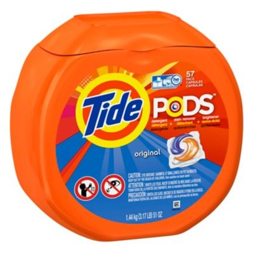 Tide PODS 57-Count Laundry Detergent in Original