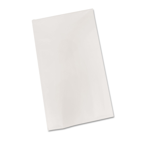Tablemate TBLBIO549WH Bio-Degradable Plastic Table Cover, 54