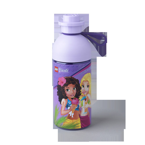 LEGO Friends Hydration Bottle Transparent Lilac