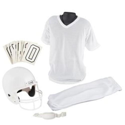 Franklin Sports NFL Medium White Youth Uniform Set