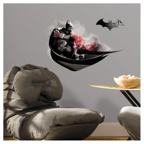 RoomMates Batman Arkham City Darkness Wall Graphix Peel and Stick Giant Wall Decals