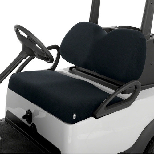 Classic Accessories Terry Cloth Golf Cart Seat Saver Black - 40-028-010401-00