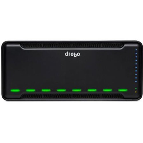 Drobo B810n 8-Bay Network Attached Storage (NAS) Enclosure, Diskless DR-B810N-5A21