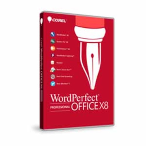 WordPerfect Full Version Office X8 - Professional Edition