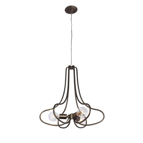 Varaluz The Whole Package 3-light New Bronze Chandelier