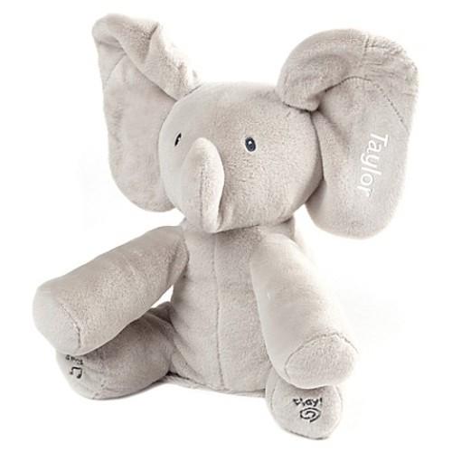 Gund Flappy The Elephant in Grey