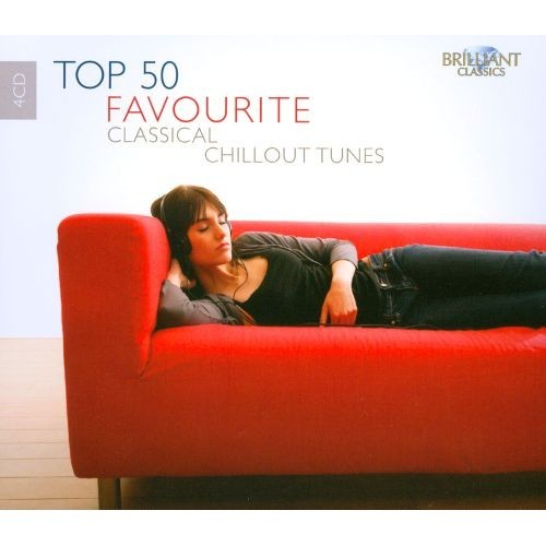 Top 50 Favourite Classical Chillout Tunes - Various - CD