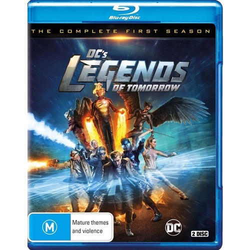Legends Of Tomorrow: The Complete First Season (DC) [DVD]