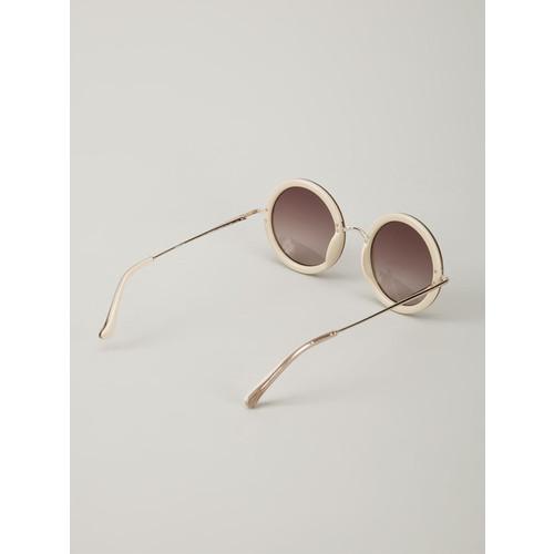 LINDA FARROW 'The Row8' Sunglasses