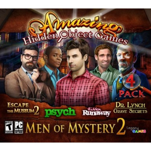 Amazing Hidden Object Games MEN OF MYSTERY 2