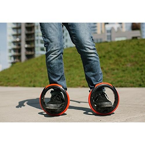 Inventist Orbitwheel Skates [Green/Blue]