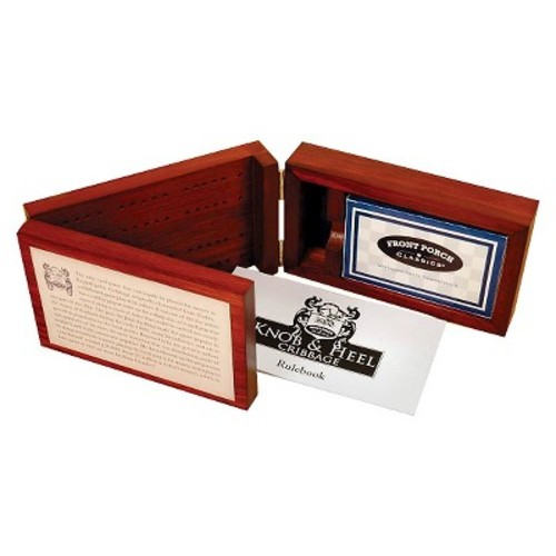 Front Porch Classics Knob & Heel Cribbage Game