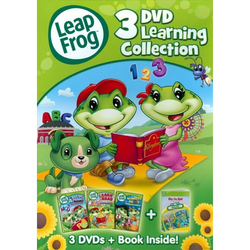 LeapFrog: 3 DVD Learning Collection [3 Discs] [With Book] [DVD]