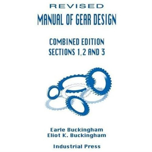 Manual of Gear Design (Paperback)