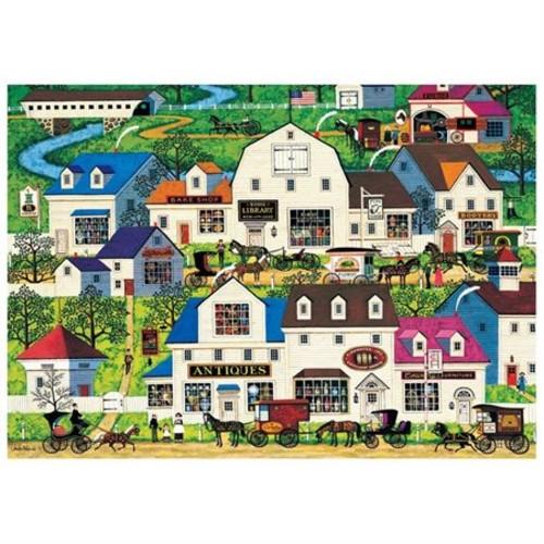 Buffalo Games Americana Jigsaw Puzzle 500-Piece - Shops and Buggies