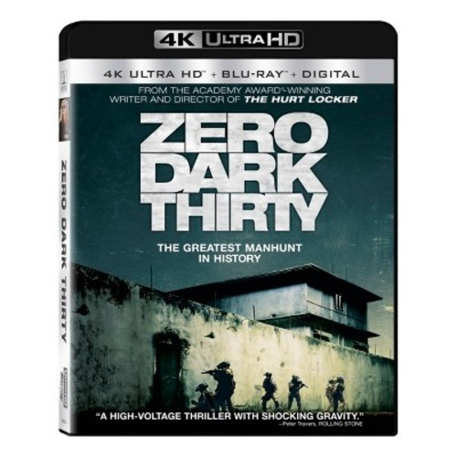 Zero Dark Thirty (4K/UHD + Blu-ray + Digital)