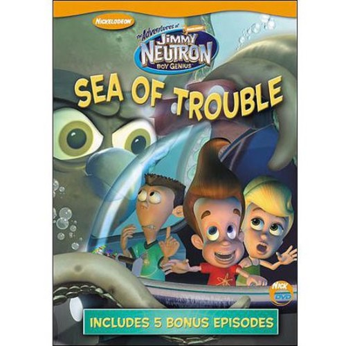 Jimmy Neutron-Sea of Trouble