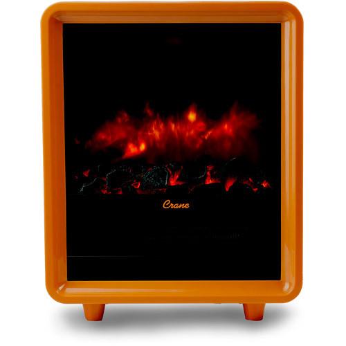 Crane Fireplace Heater - Black [Black]