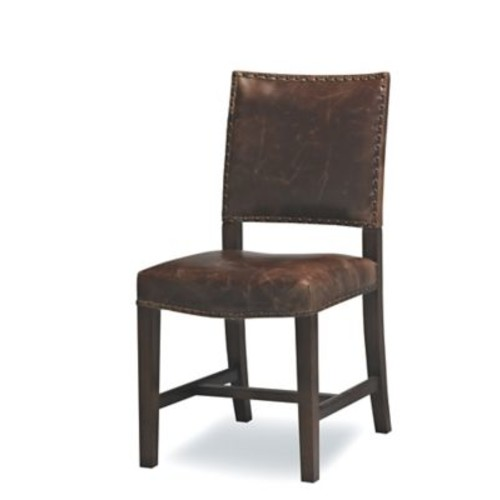 Sofas to Go Valley Genuine Leather Upholstered Dining Chair