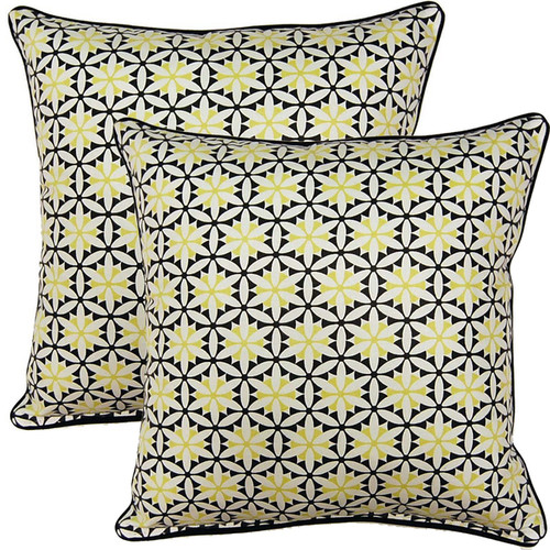 View Finder Domino 17-inch Throw Pillows (Set of 2)