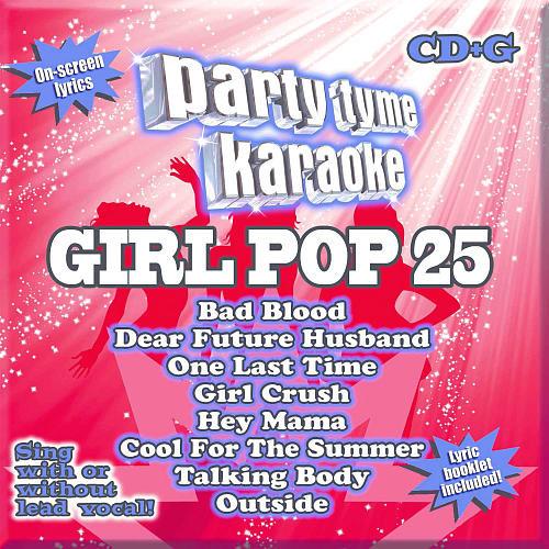 Party Tyme Karaoke Girl Pop 25 CD