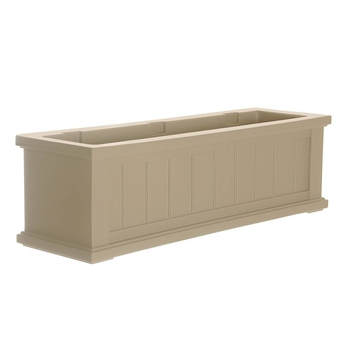 Mayne Cape Cod Window Box 3FT Clay