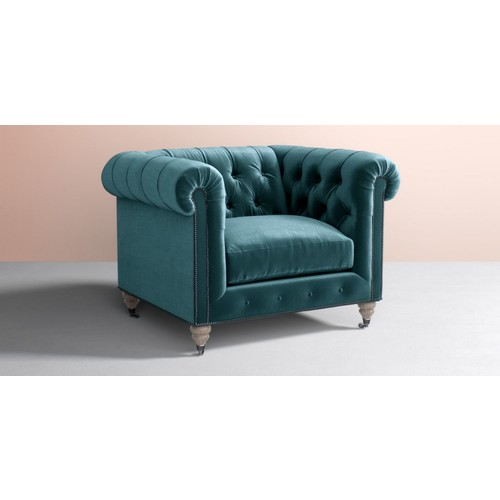 Lyre Chesterfield Chair