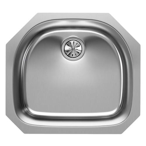 Elkay Undermount Stainless Steel 24 in. Single Bowl Kitchen Sink