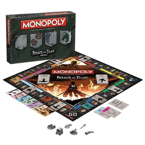 Attack on Titan Monopoly Collector's Edition Board Game