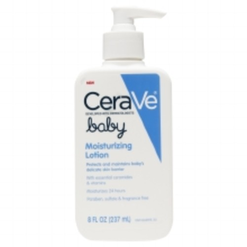 CeraVe Baby Moisturizing Lotion Fragrance Free with Essential Ceramides Fragrance Free