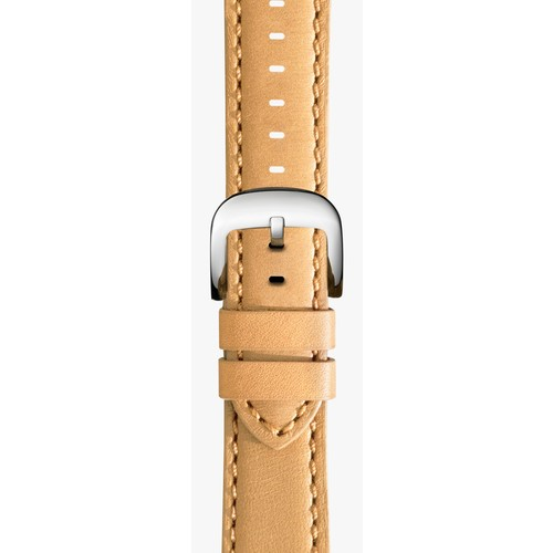 18mm Natural Leather Strap