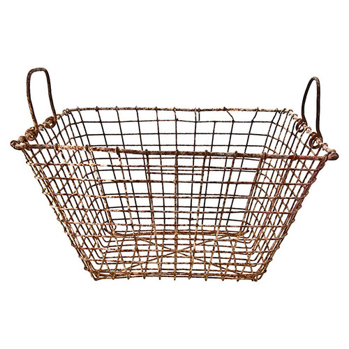 Rustic Wire Mussel Basket
