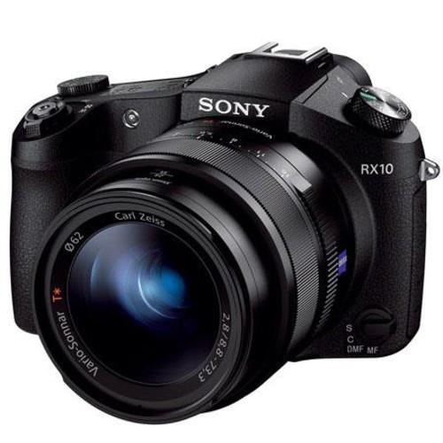 Sony Cyber-Shot DSC-RX10 Digital Camera, Black DSCRX10/B