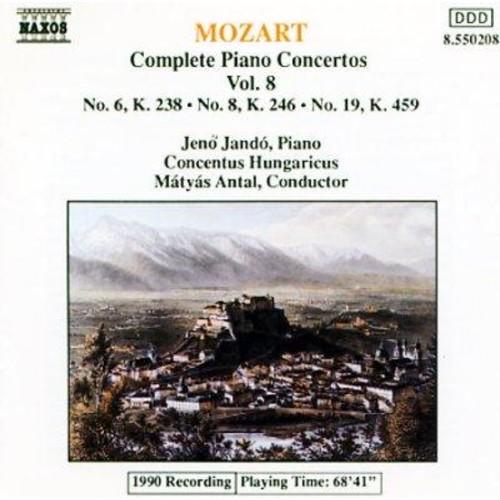 Various - Mozart: Piano Concertos Vol 8