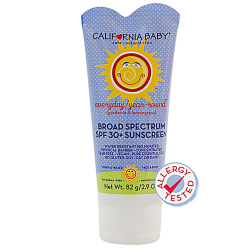 California Baby Broad Spectrum SPF 30+ Sunscreen -- 2.9 fl oz