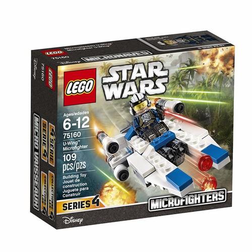 LEGO Star Wars U-Wing Microfighter 75160 Building Kit [U-Wing Microfighter]