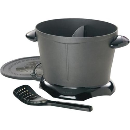 Presto DualDaddy Deep Fryer - 2 quart Oil - Black