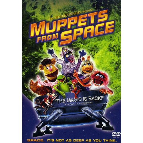 Sony Home Pictures Children's Muppets From Space (DVD)