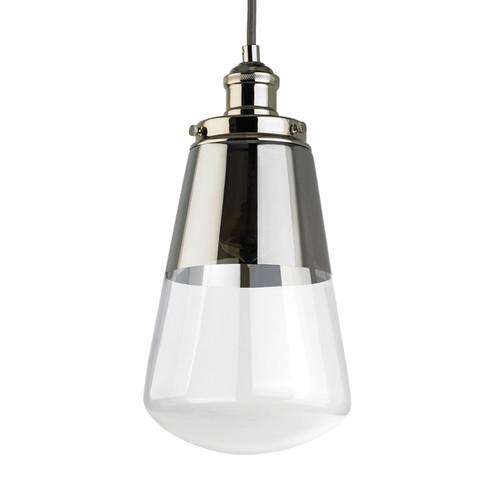 Feiss Mini 1-light Polished Nickel Pendant