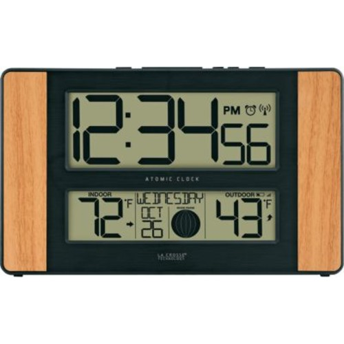 La Crosse Technology 513-1417 Atomic Digital Clock